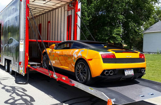 car transport 550x360 at What Is the Cheapest Way to Transport A Car?
