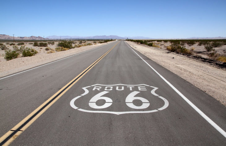 route 66 730x473 at What is on a Motorcyclist's Bucket List