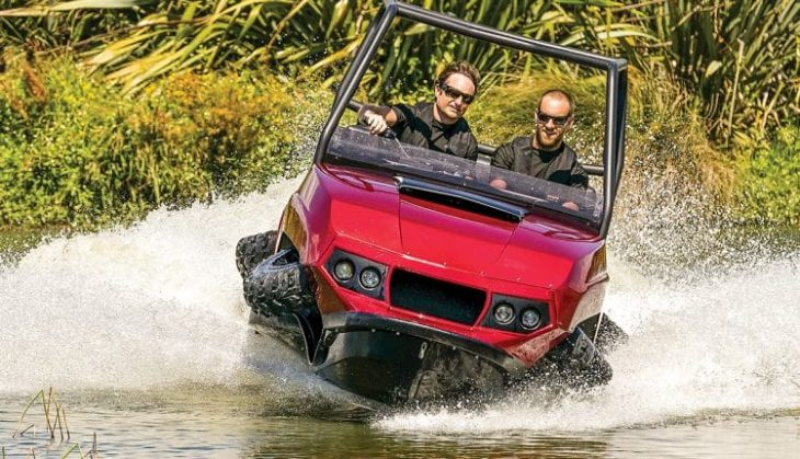 Gibbs Terraquad 1 730x419 at Versatile All Terrain Cars/Vehicles with Incredible Designs