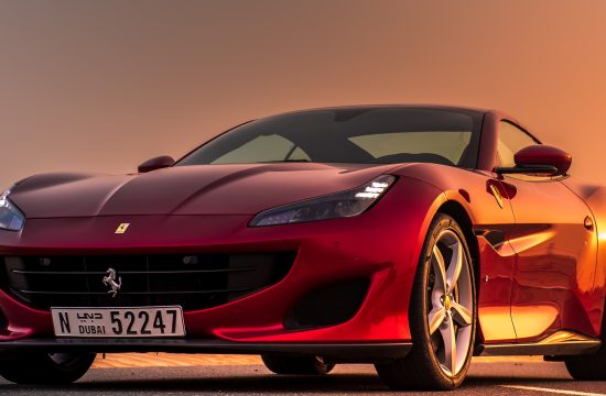 181026 car The Ferrari Portofino Picture Perfect in the UAE @therollingprodigee 1 550x360 at Renting a Ferrari in Dubai (Never go to Lurento)