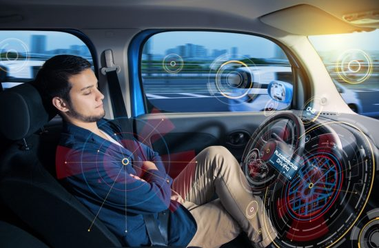 Human Passenger in Autonomous Vehicle 550x360 at Autonomous Vehicles and the Consumer
