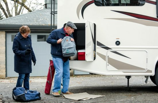 rv 550x360 at How to Organize a Family RV Trip for The First Time?