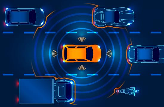 Autonomous Vehicle Perceiving Its Surroundings 550x360 at The Benefit of Stereoscopic Vision for Autonomous Vehicles