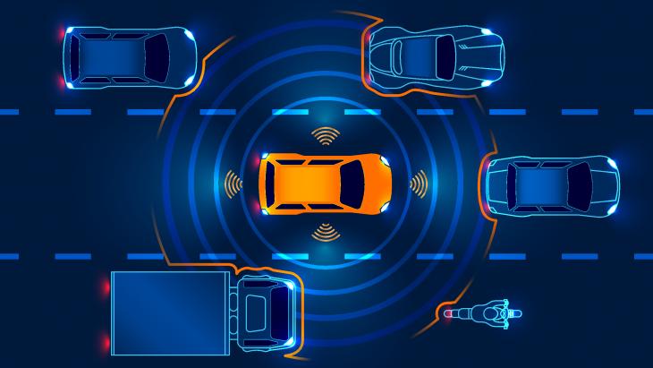 Autonomous Vehicle Perceiving Its Surroundings 730x411 at The Benefit of Stereoscopic Vision for Autonomous Vehicles
