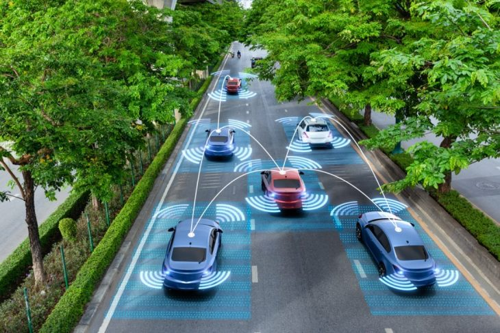 System Of Connected Autonomous Vehicles In Sync 730x487 at Autonomous Vehicles And A System Of Connected Cars