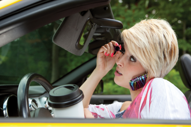 distracted driver 730x486 at What You Need to Know About Distracted Driving in Oklahoma