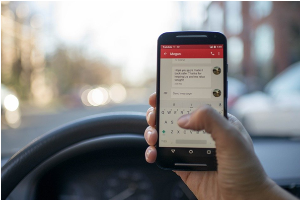 distracted phone driver at What You Need to Know About Distracted Driving in Oklahoma