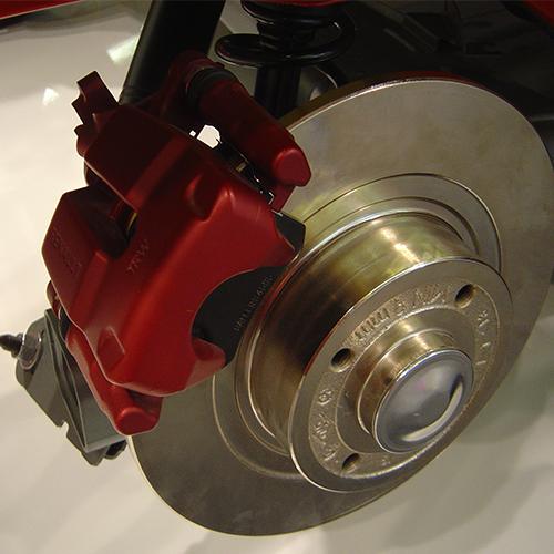 car brake 3 at Car Brake System   Working and Maintenance