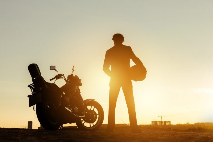 motor at dawn 730x487 at Tune in While Touring: 7 Best Podcasts for Motorcyclists