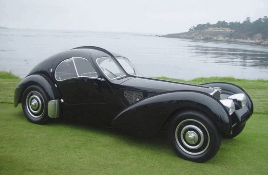bugatti type 57sc atlantic 1936 397447 550x360 at Most Famous Cars in History