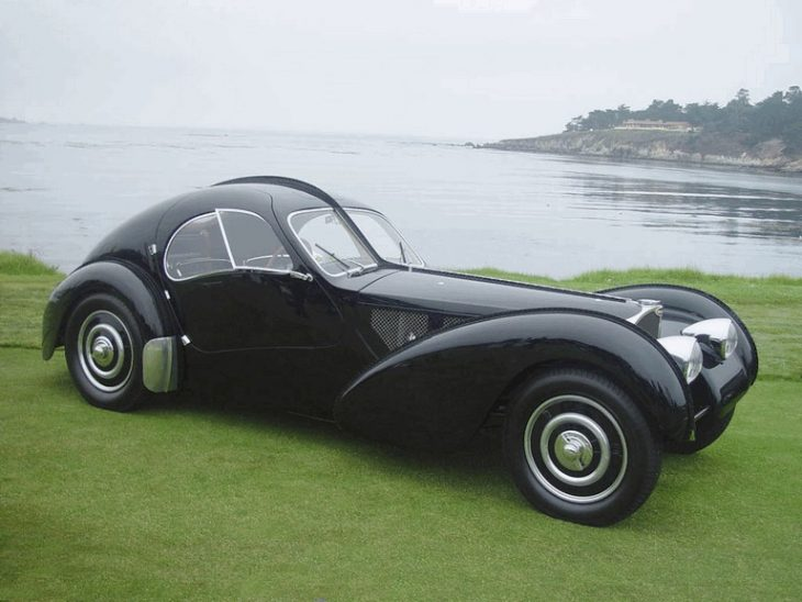 bugatti type 57sc atlantic 1936 397447 730x548 at Most Famous Cars in History