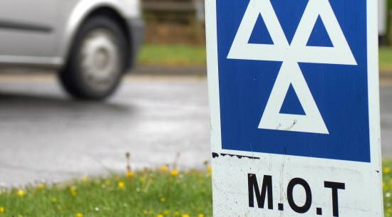 MOT 550x305 at What's the Difference Between an MOT and Car Servicing?