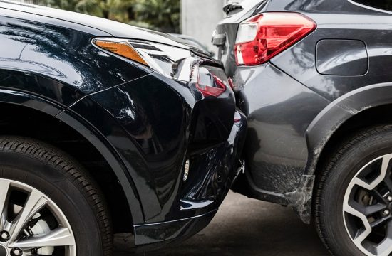 two cars in accident 550x360 at What you must do after a car accident