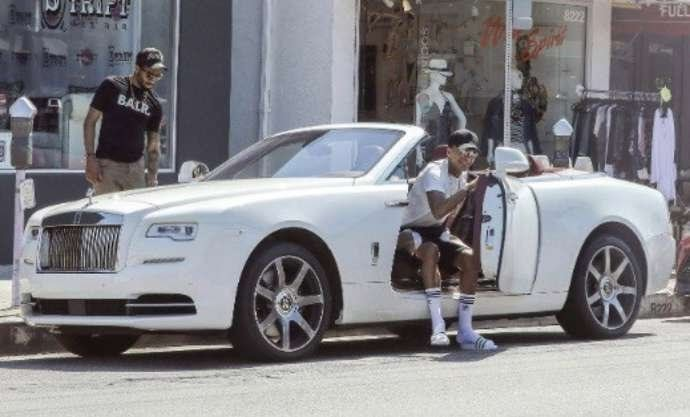 Dele Alli Rolls Royce Phantom at The 5 Premier League players with the most expensive cars