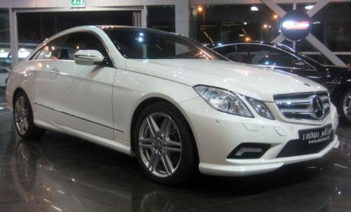 2010 Mercedes E Class Coupe Launched In Uae