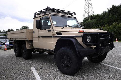 Mercedes Gclass 6x6 1 at Mercedes G Class 6x6 for Australian army