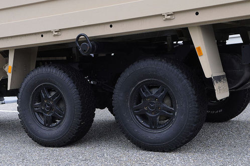 Mercedes Gclass 6x6 4 at Mercedes G Class 6x6 for Australian army