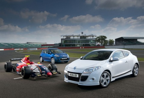 renault world series 1 at Renault Clio and Megane World Series for UK