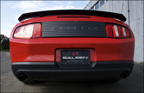 mustang 435 s back at Mustang Saleen 435S by MJ Acquisitions!
