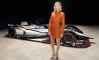 Margot Robbie Launches Nissan Formula E Car in L.A.