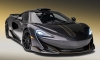 McLaren 600LT Stealth Grey Sneaks into Pebble Beach