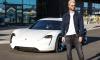Maroon 5's Adam Levine Sample's Porsche Mission E