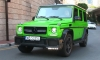 Crazy Color Brabus G63 Spotted in Monaco