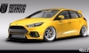 SEMA 2017: Ford Focus RS by UTI, Tjin, and Pennzoil