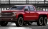 Hennessey Goliath 6x6 Based on 2019 Chevy Silverado