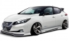 Kuhl Nissan LEAF Goes Negative Camber