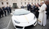 Lamborghini Huracan Gifted to Pope Francis, To Be Auctioned for Charity