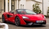 One-Off Vermillion Red McLaren 570S Spider for Valentine's Day