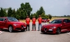 Ferrari F1 Drivers Sample Some Alfa Romeo Giulia QV Magic