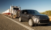 2018 Land Rover Discovery Tows 110-Tonne Road Train