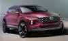 2019 Hyundai Santa Fe Previewed in Official Renderings