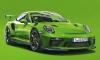 Porsche 911 GT3 RS' Lizard Green Color Explained