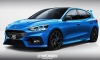 2020 Ford Focus RS Speculatively Rendered