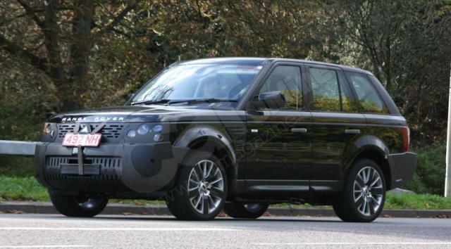 rangeroversportspyshot 2 at 2009 Range Rover Sport Spyshots