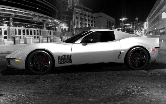 c3r renders 110608 01 at Corvette C3R : StingRay Rebirth