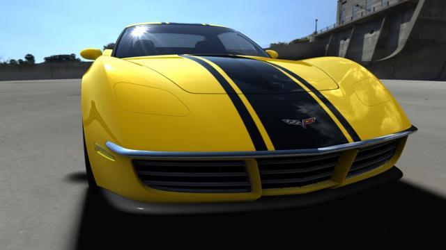 c3r renders 110608 07 at Corvette C3R : StingRay Rebirth