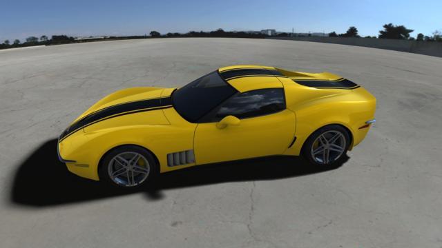 c3r renders 110608 08 at Corvette C3R : StingRay Rebirth