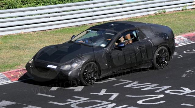 maserati91 at 2009 Maserati Gran Turismo Spyder   Spyshots