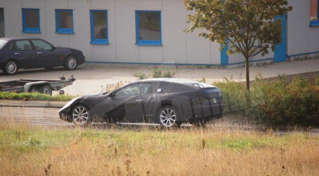 maserati94 at 2009 Maserati Gran Turismo Spyder   Spyshots