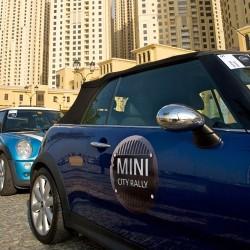 mini1 41 at MINI Club Dubai set city rally