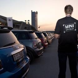 mini2 4 at MINI Club Dubai set city rally