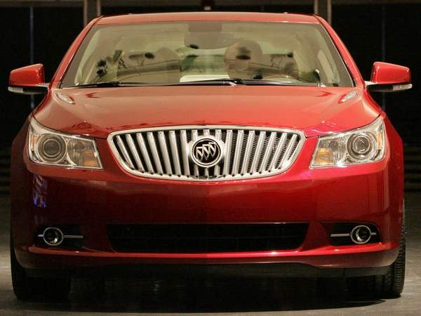 bilde at 2010 Buick LaCrosse