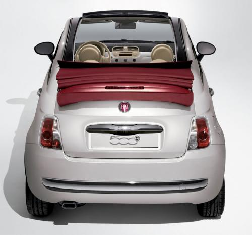 Fiat 500C Official Images