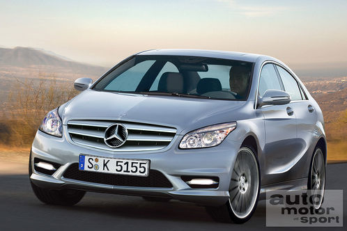 122107 at Mercedes Benz BLS four door coupe for 2011
