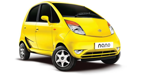 tata nano at TATA Nano launched in India at $1,980