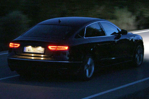 2010 Audi A5 Sportback Spied At Night